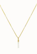 Flawed Flawed Ivory Drop Necklace