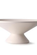 HKliving Fruit bowl on base matt skin