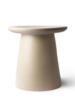 HKliving Side table earthware