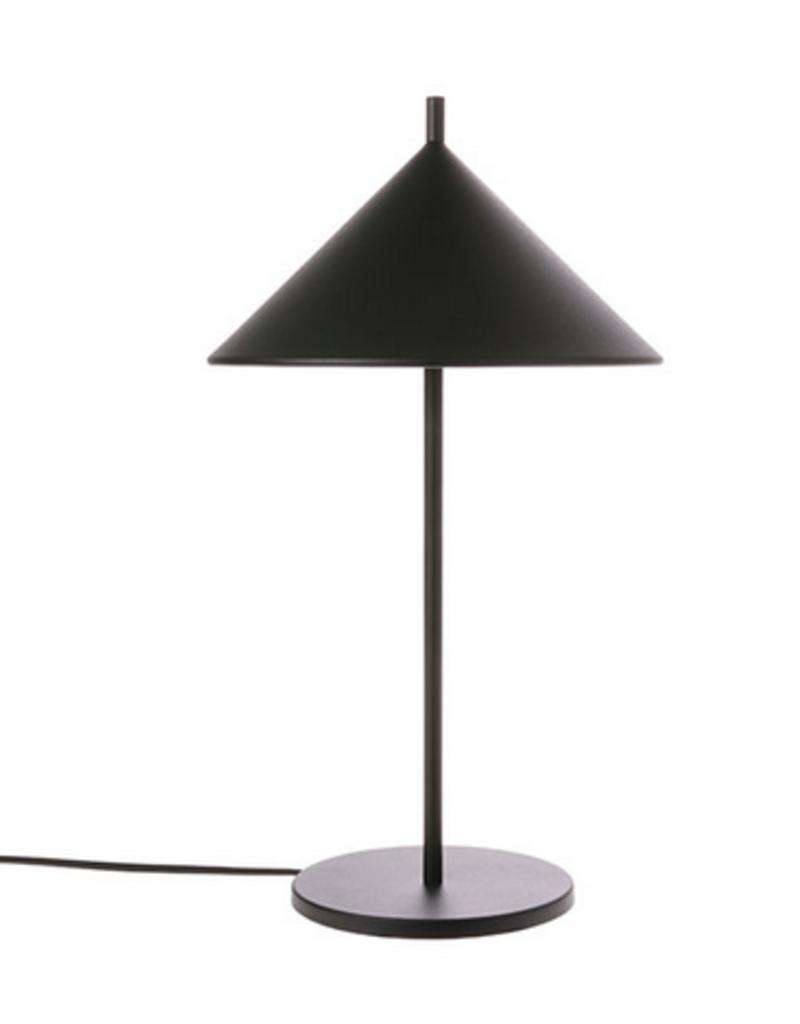 HKliving Metal traingle Lamp matt black
