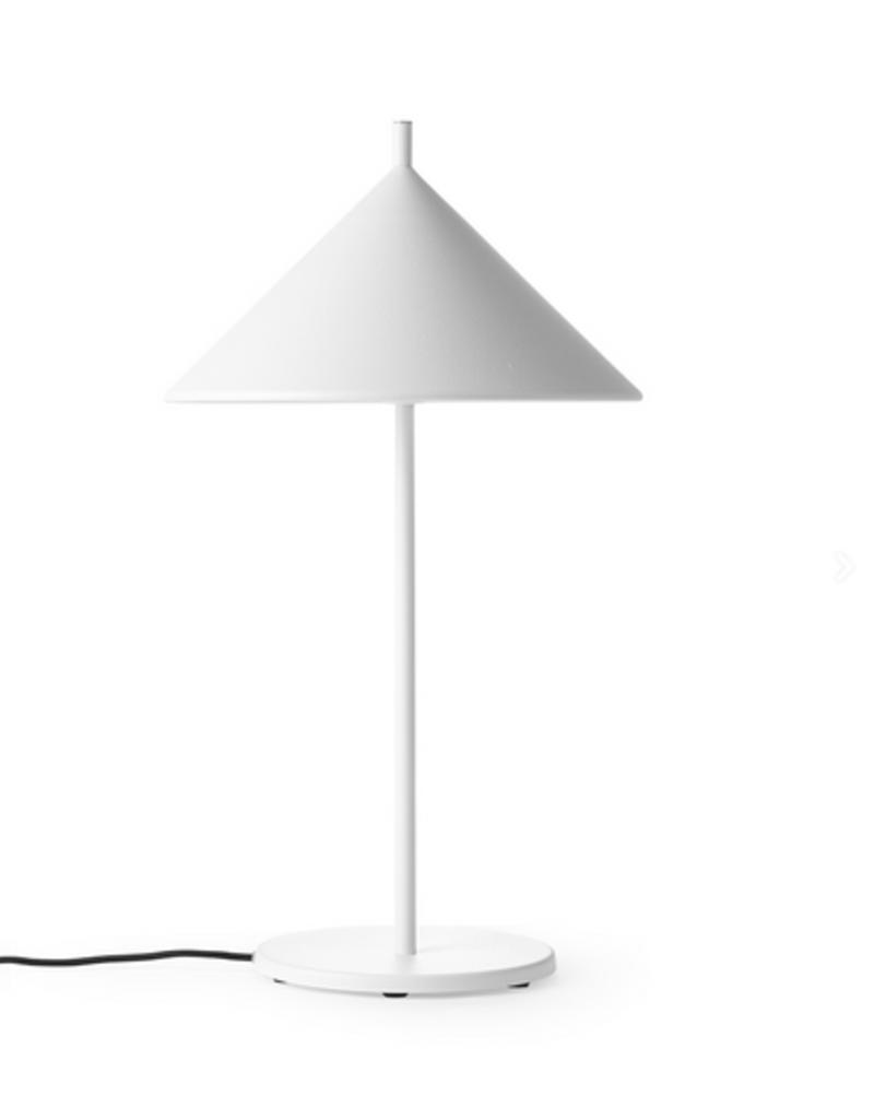 HKliving HK living metal traingle Lamp matt white