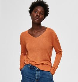 Selected Femme Linel knit v-neck