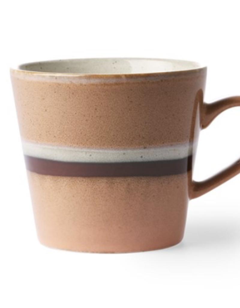 HKliving Ceramic Cappuccino 70's Mug