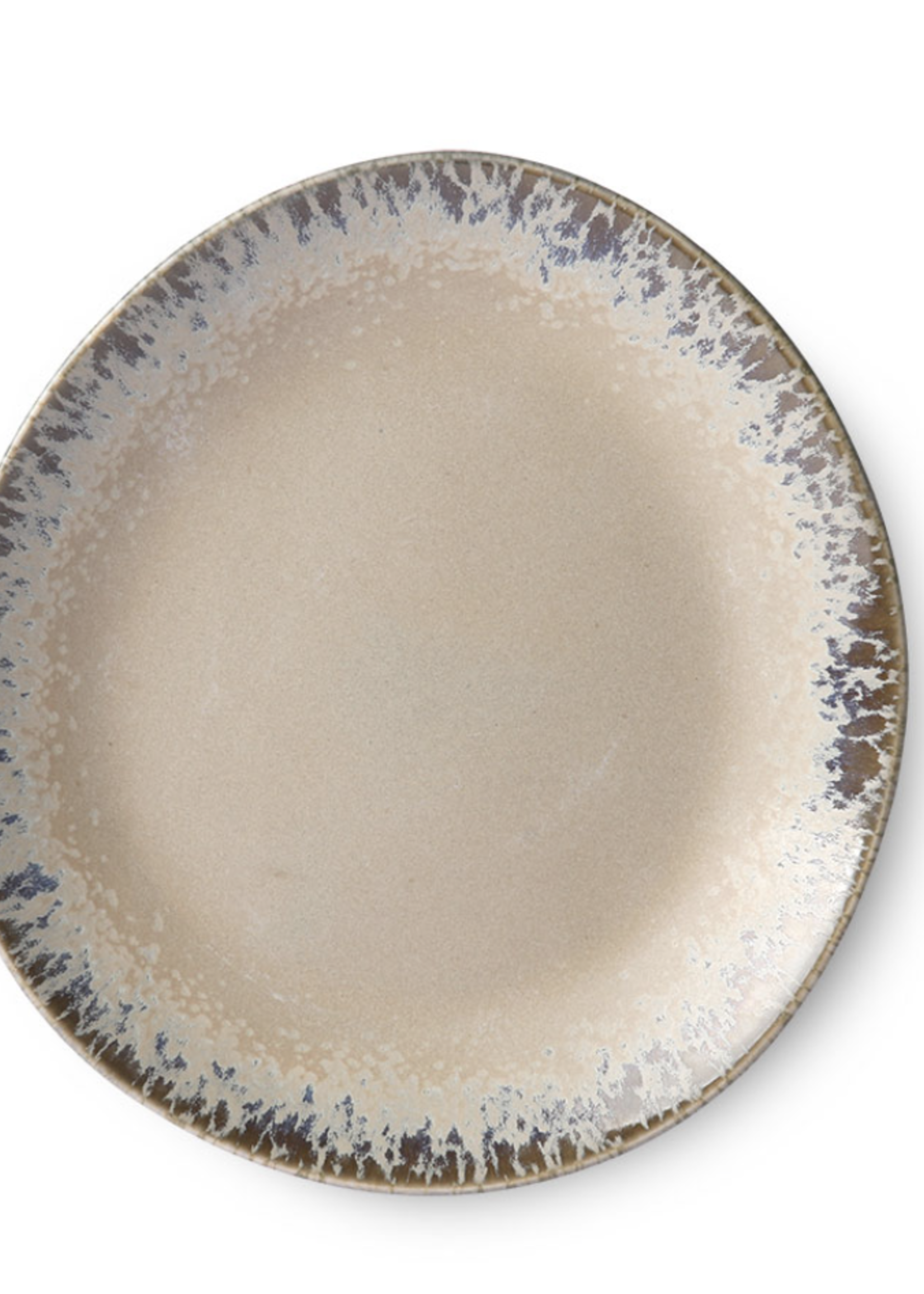 HKliving Side plate ceramic 70s bark
