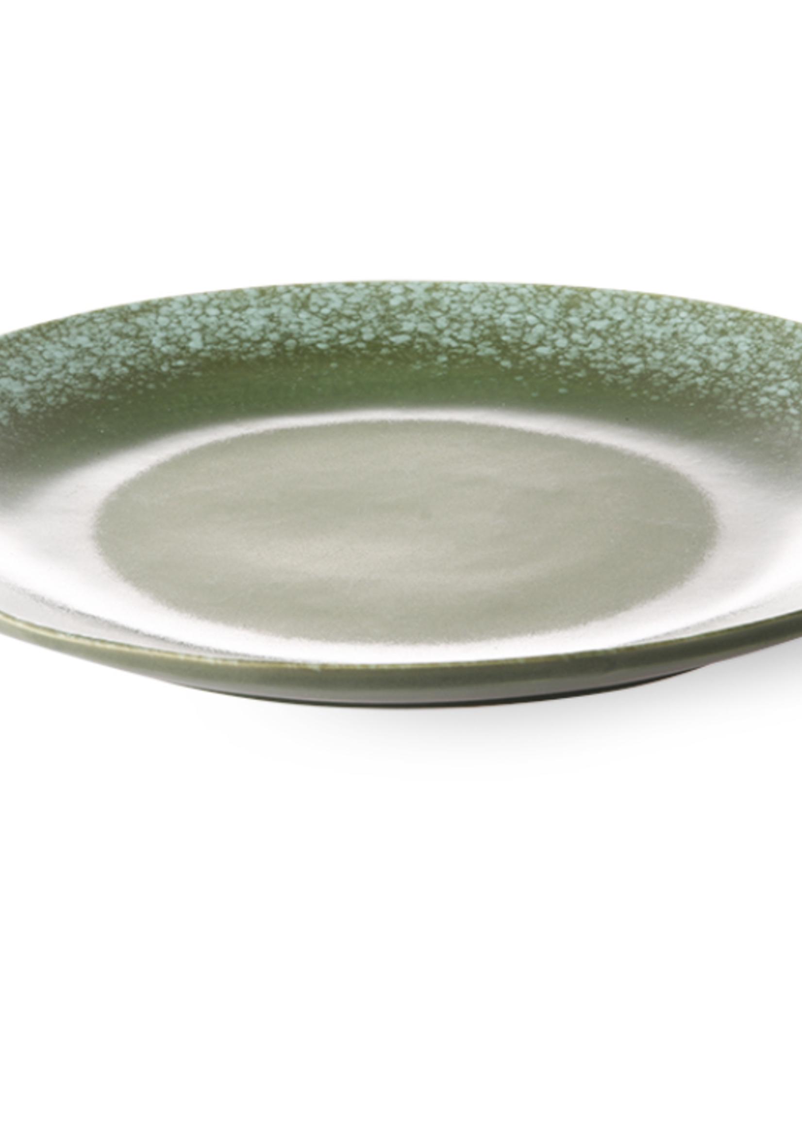 HKliving 70  Dinner Plate green