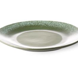 HKliving '70  Dinner Plate green