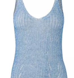 Second Female Nabu Knit Top blue