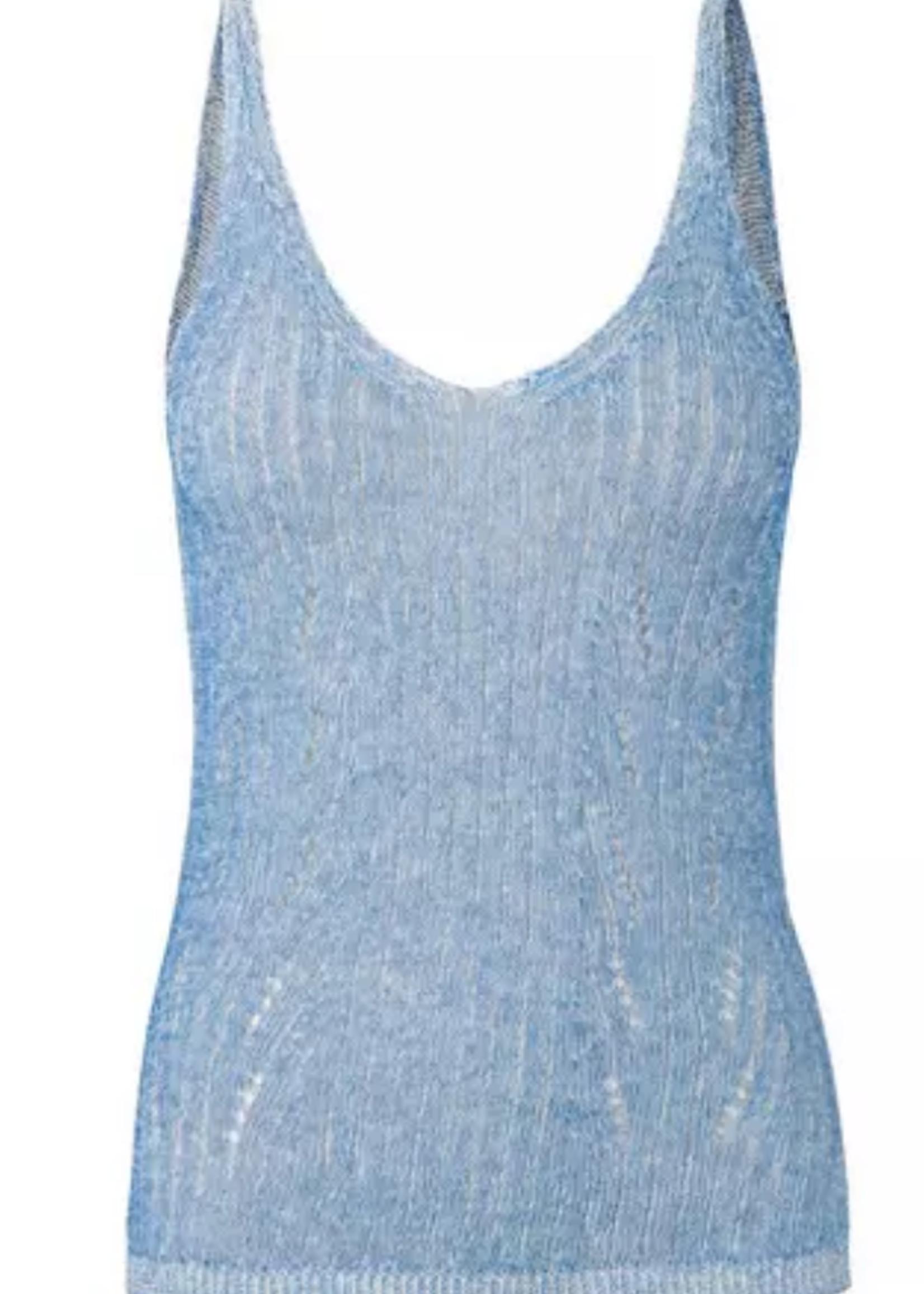 Second Female  Nabu Knit Top blue