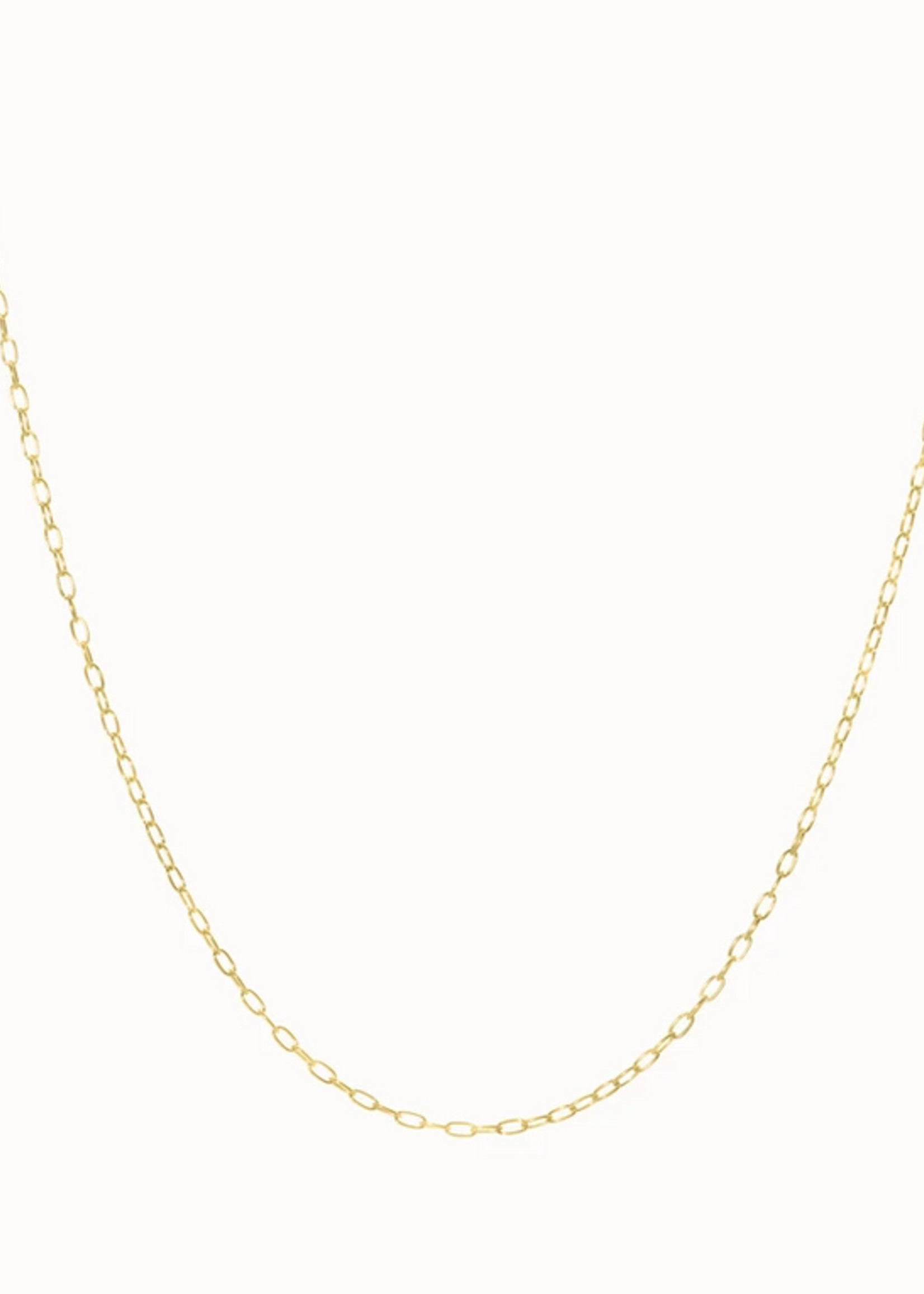 Flawed Oval necklace