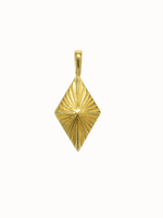 Flawed Luminous pendant gold plated
