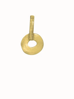 Flawed Open charm pendant hanger gold plated
