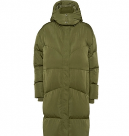 Norr Selma puffer jacket army