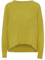 Norr Saga knit Moss yellow