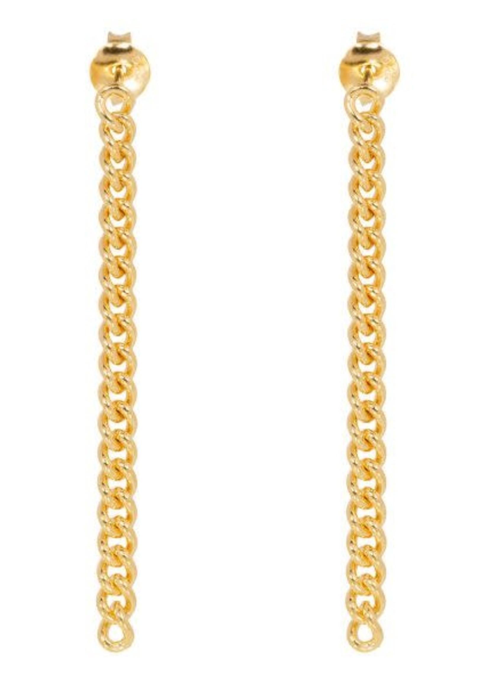 Eline Rosina Chunky chain earrings