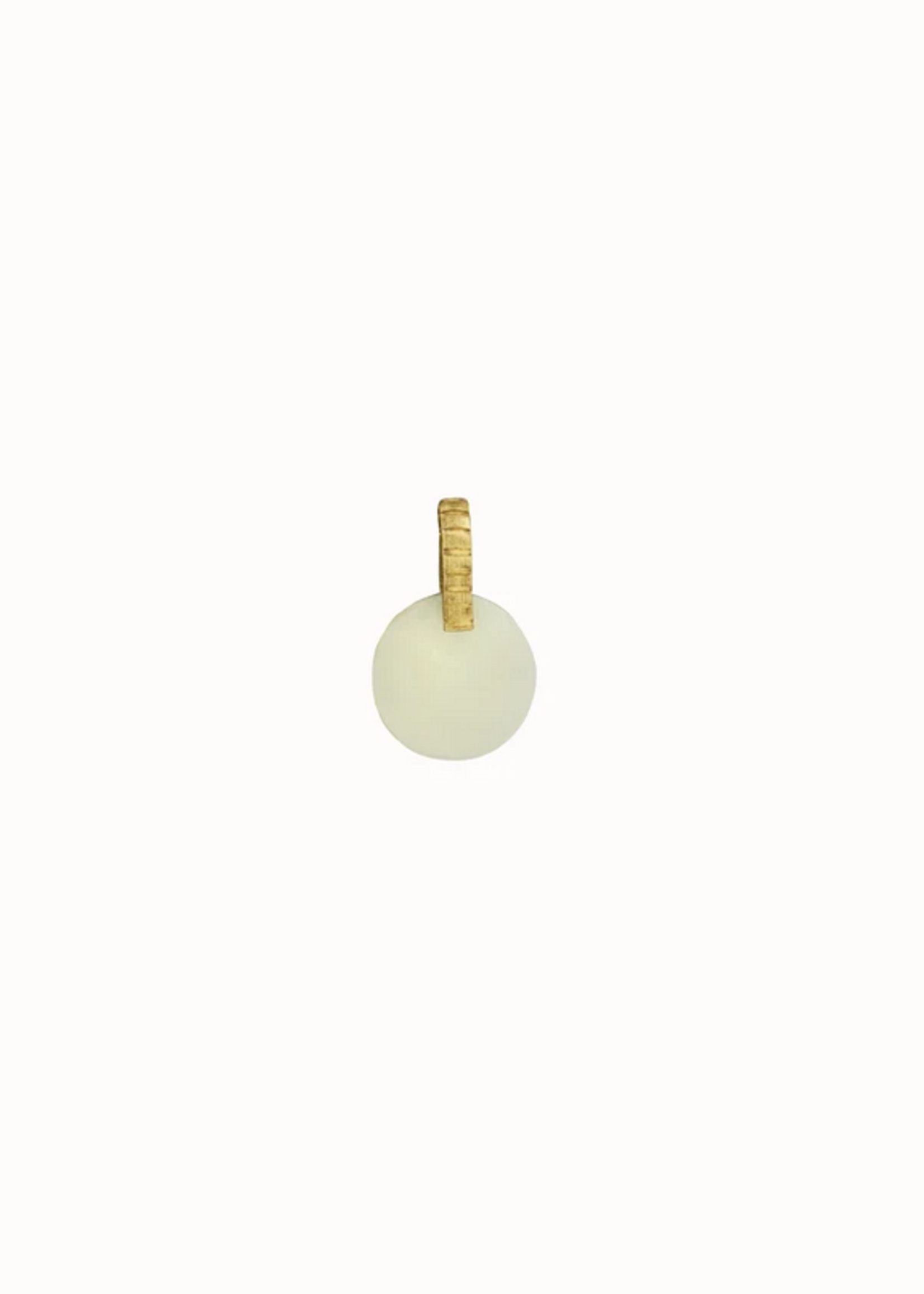 Flawed Ivory charm pendant