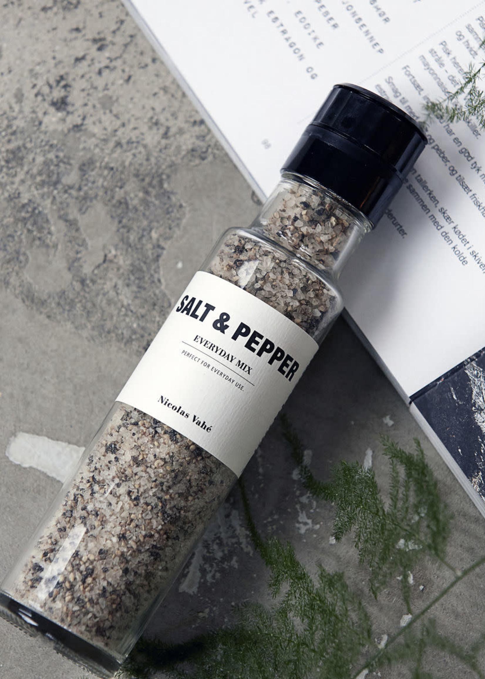 Nicolas Vahé Salt & Pepper set, everyday mix