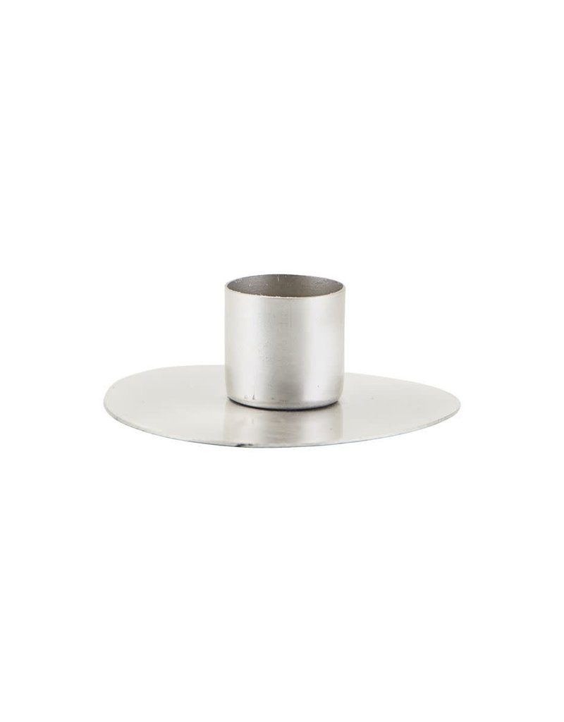 House Doctor Candle stand, Circle, Silver