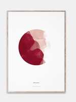 Paper Collective Red moon 50x70
