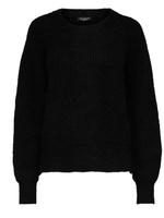 Selected Femme Sif rib knit o-neck
