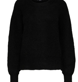 Selected Femme Sif rib knit o-neck
