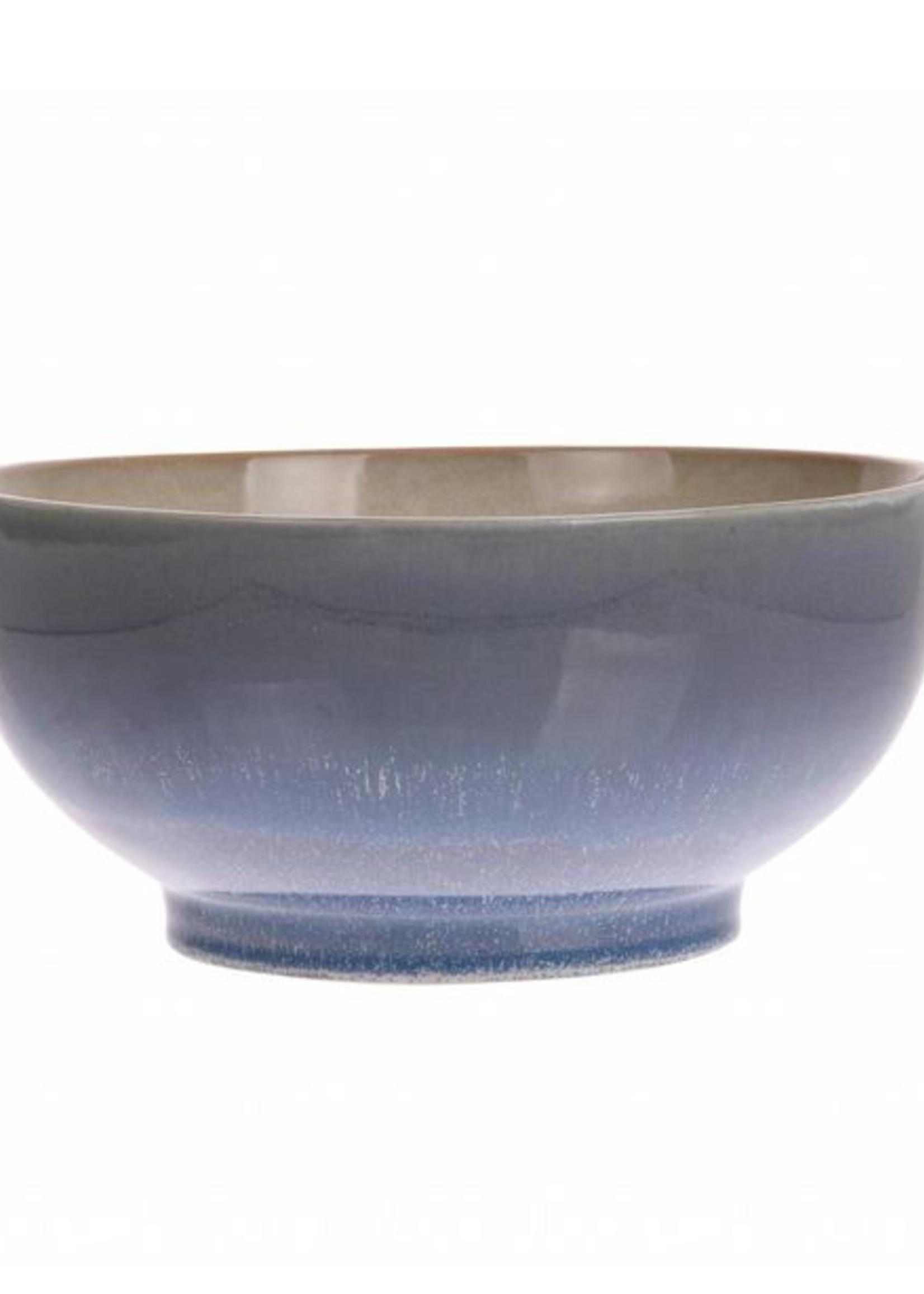 HKliving Ceramic 70's salade bowl ocean