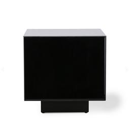 HKliving Mirror block table black m