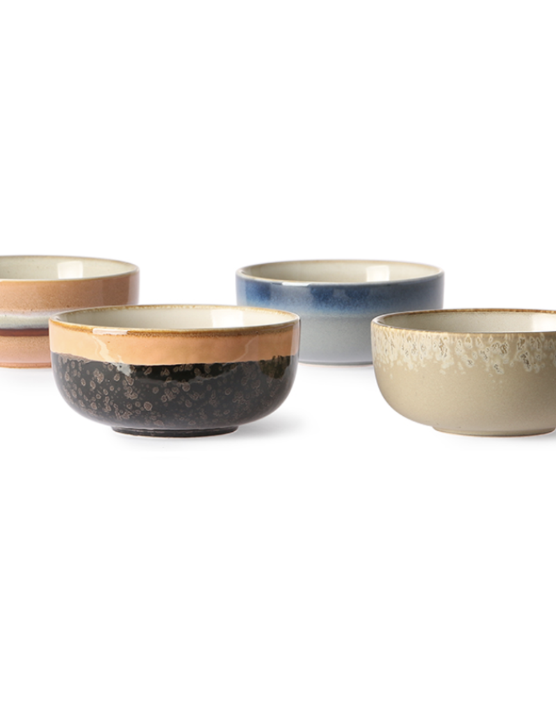 HKliving Ceramic 70's tapas bowl