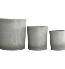 House Doctor Planter, Ave, Light grey Small 18 cm, x  21 cm