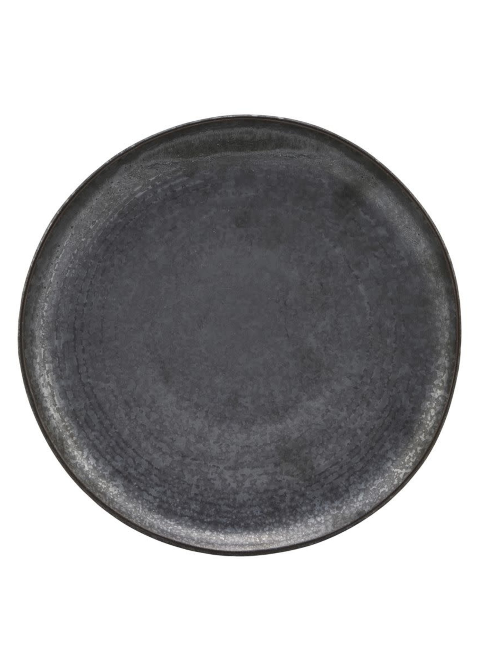 House Doctor Lunch plate, Pion, Black/Brown