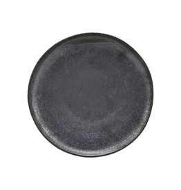 House Doctor Plate, Pion, Black/Brown