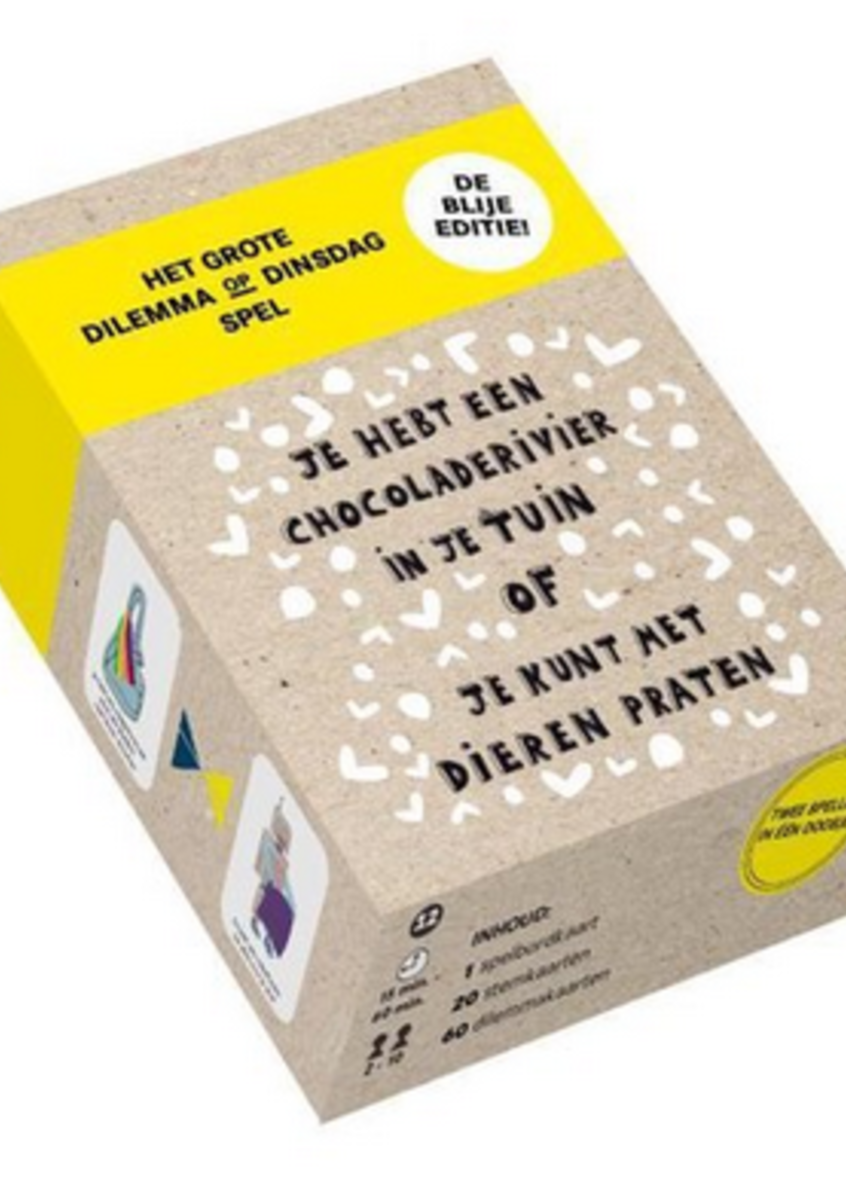 BIS Book Het grote dilemma, blije editie