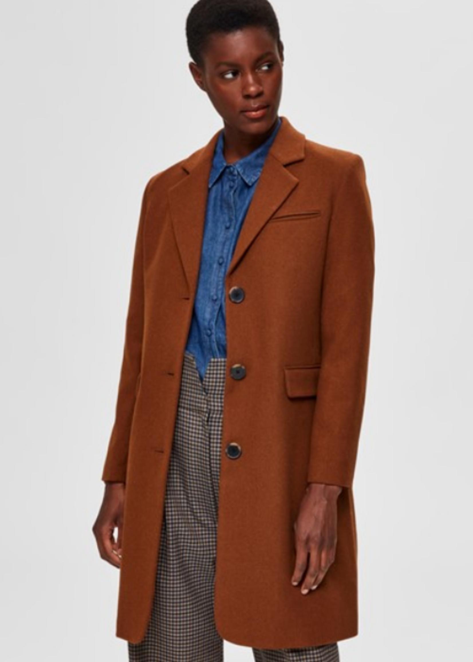 Selected Femme Elina wool coat