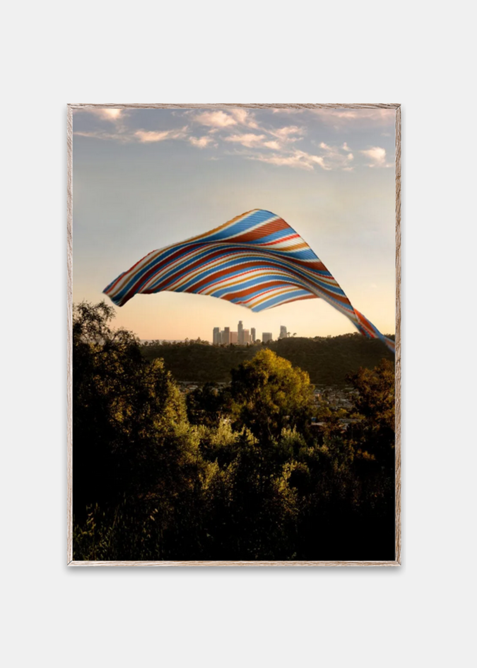 Paper Collective LA Skies 50x70