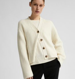 Selected Femme LS knit cardigan