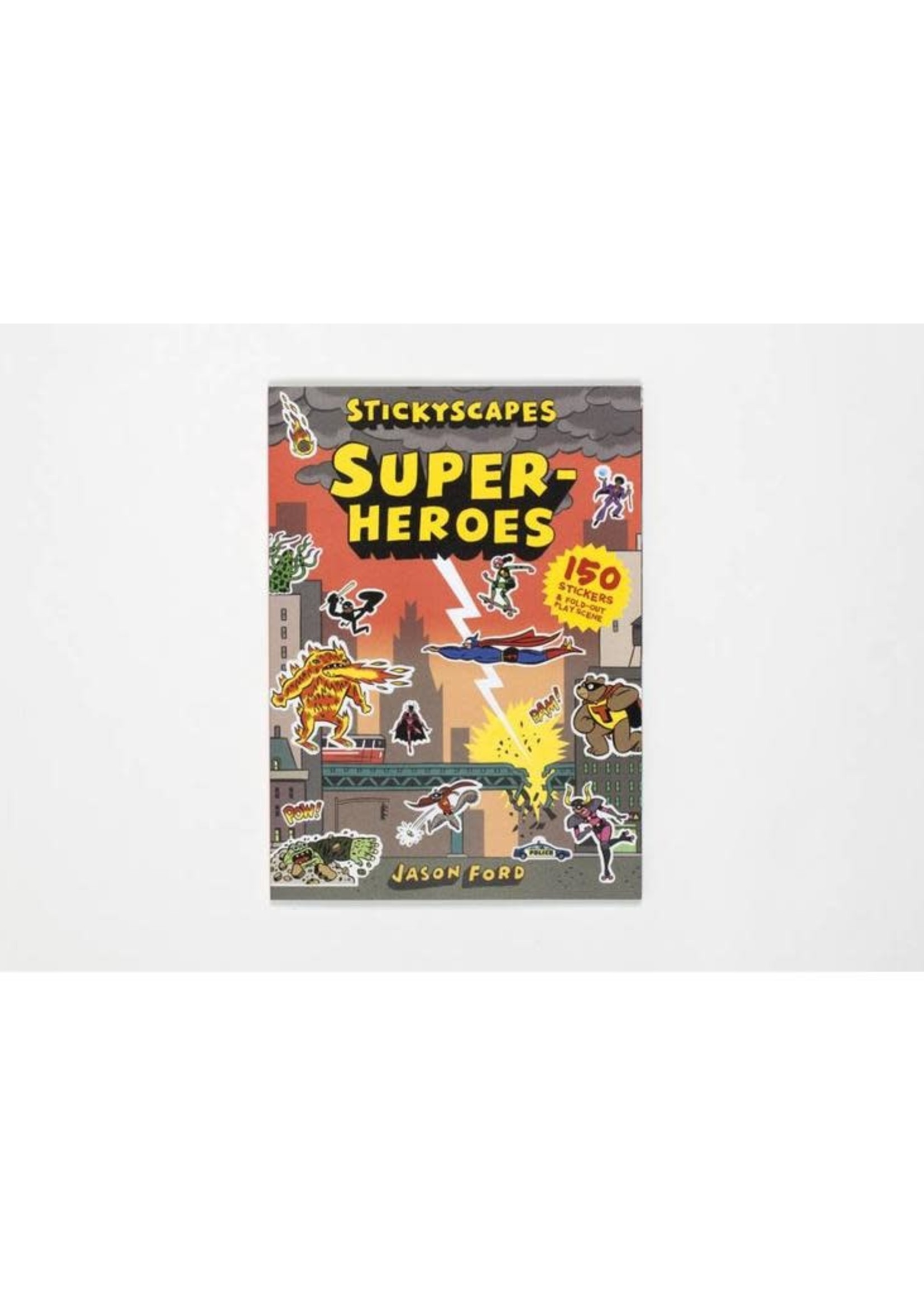 Stickyscaped Superheroes