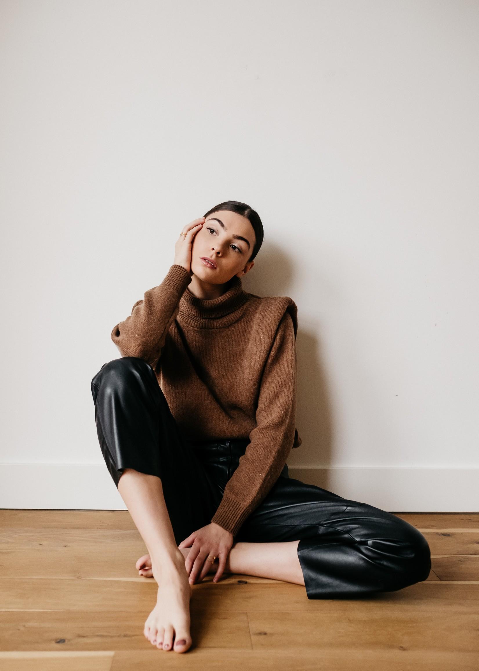 Selected Femme LIV shoulder knit rollneck B
