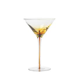 Broste Martini glas  Amber, set van 2