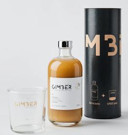 gimber Gift Tin (500ml + glass)