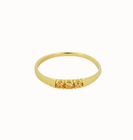 Flawed Dreamland Ring Champagne