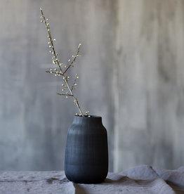 House Doctor Vase, Groove, Black