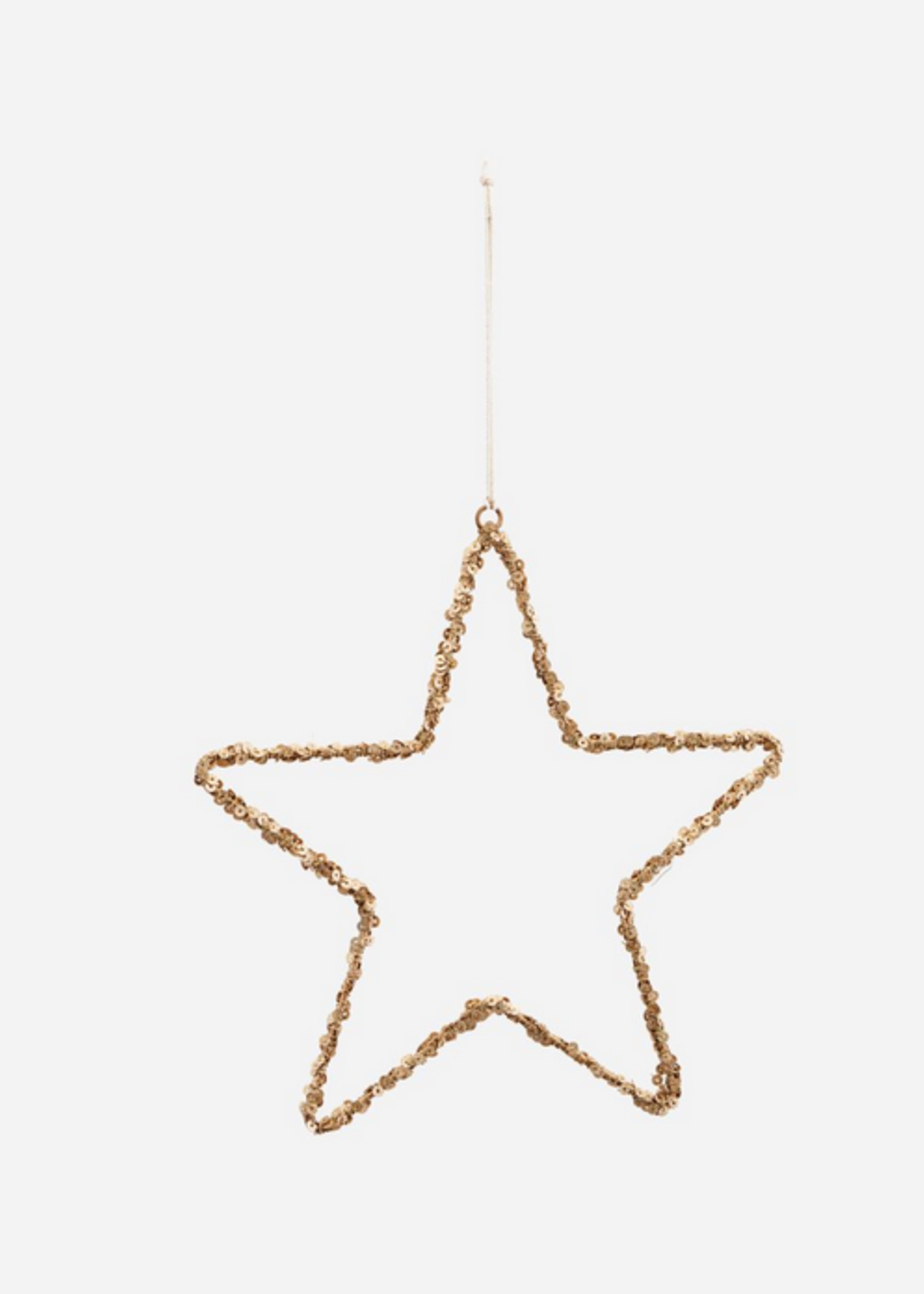 House Doctor Ornament, Star, Nature