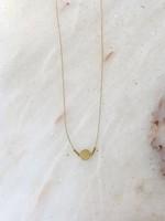 Essyello Necklace  Flat Circle