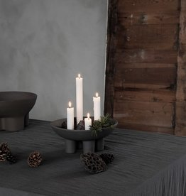 House Doctor House Doctor Candle stand, advent, grey