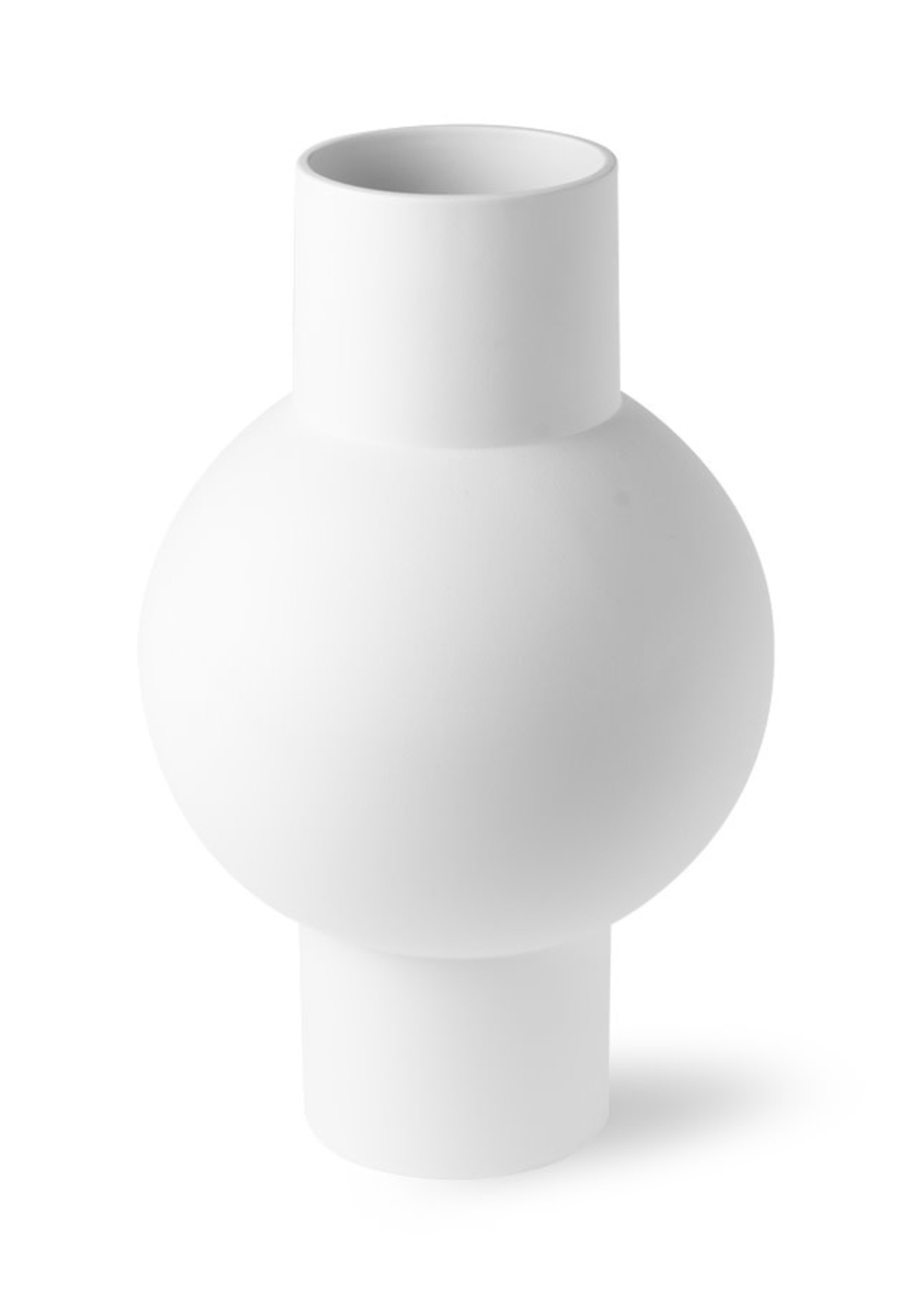 HKliving Matt white vase