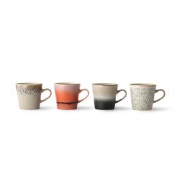 HKliving HK Living Ceramic americano 70's mug set