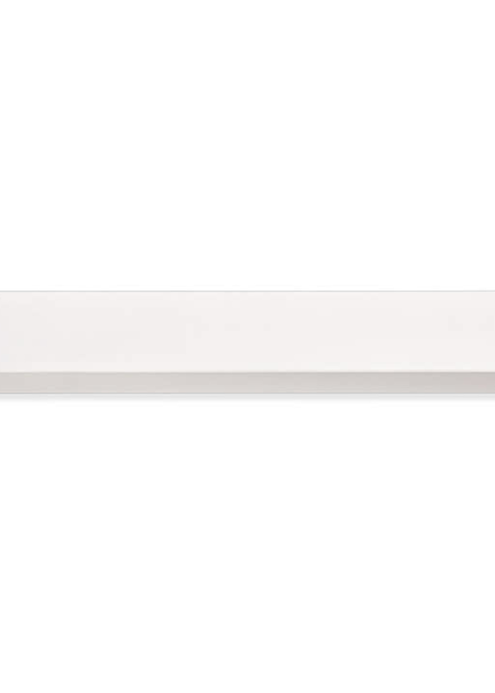 Design Letters Single Paper Shelf  White 84 cm