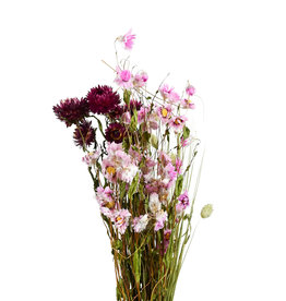 Dry Flower Bouquet pink