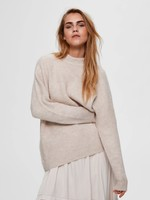 Selected Femme Lulu enica knit o-neck noos
