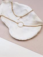 Essyello Fine Circle Bracelet