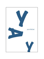 Mood MOOD card - YAY You are the best